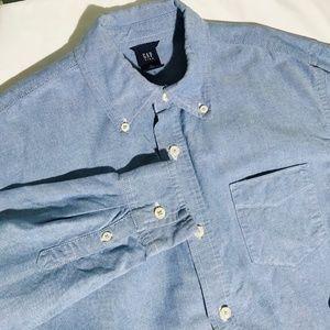 4/$30 GAP Kids Button Down Oxford Shirt Boys 10